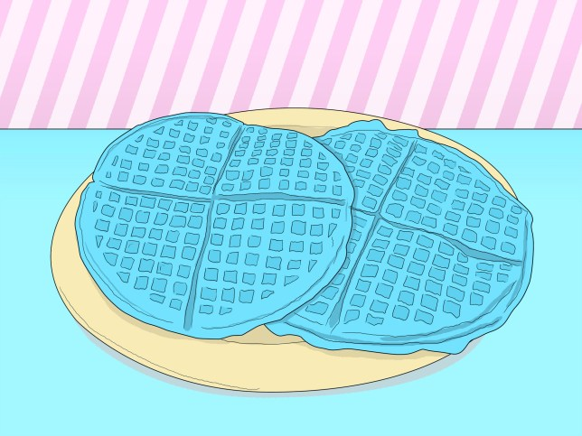 Is blue waffle real?