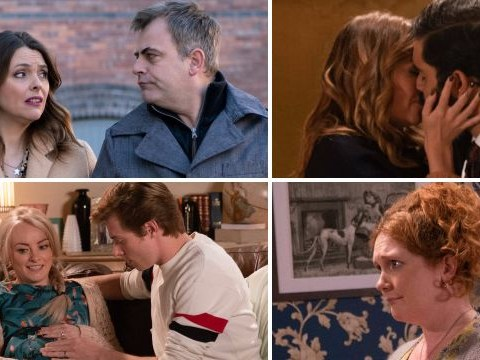 10 Coronation Street pictures: Fiz exit, sex shock and death agony for Sinead