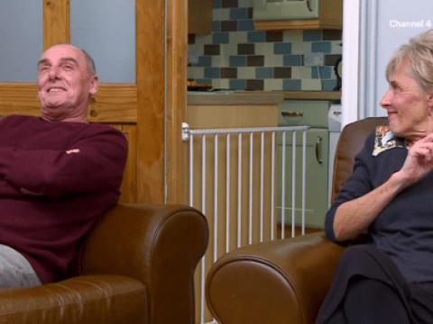 Gogglebox's Dave proposes a 'night in' with wife Shirley but she doesn't get the hint