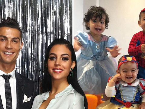 Cristiano Ronaldo celebrates daughter's first birthday as he thanks her for 'one year of bliss'