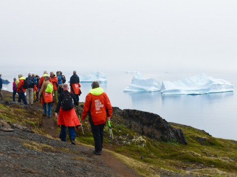Hiking, kayaking and even gyming: This is probably the most active expedition cruise to Greenland you can do