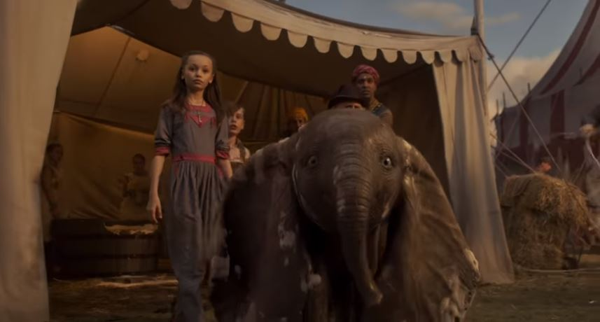 Tim Burton's live-action Dumbo gets heartbreaking new trailer