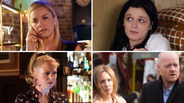 EastEnders spoilers for Mel, Hayley, Linda, Max and Rainie