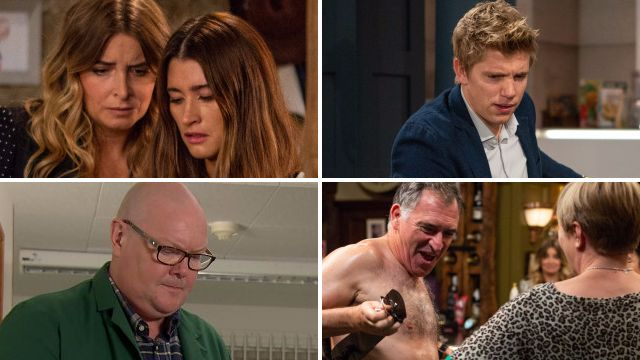 Emmerdale spoilers for Debbie, Charity, Robert, Paddy and Bob