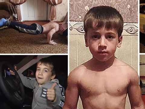 Boy, 5, gets new Mercedes for doing 4,105 press-ups non-stop