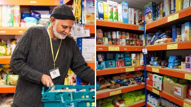 Foodbank has been stockpiling food in preparation for Universal Credit roll-out