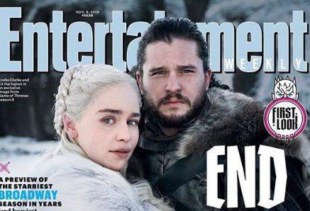 Game of Thrones: Daenerys Targaryen cuddles up to Jon Snow in official first look at season 8