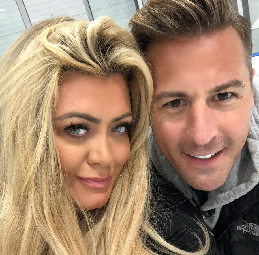 Matt Evers defended Gemma Collins over Dancing On Ice trolls (Picture: Twitter)
