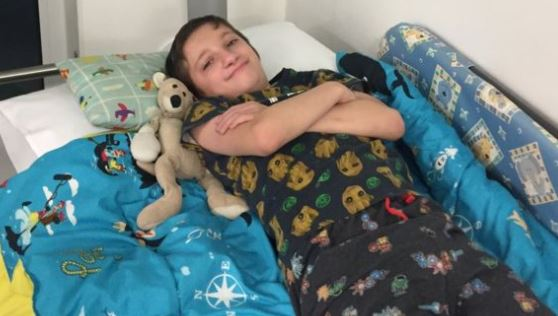 Boy, 10, devastated after losing toy kangaroo that helped him cope with surgeries
