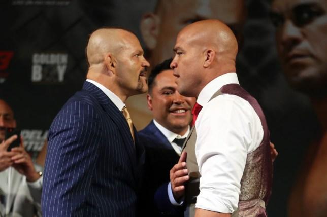 Is Chuck Liddell vs Tito Ortiz 3 on TV in the UK? Stream