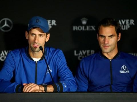 Roger Federer and Novak Djokovic disagree over future of ATP Finals