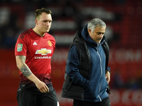 Manchester United open to offers for Phil Jones despite club preparing to trigger 12-month extension
