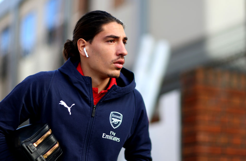 FOUR injured Arsenal defenders to be assessed ahead of Liverpool showdown
