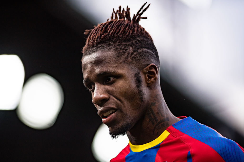 Crystal Palace want £50m for Wilfried Zaha amid Borussia Dormund interest