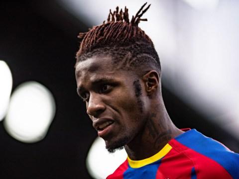 Crystal Palace want £50m for Wilfried Zaha amid Borussia Dormund interest