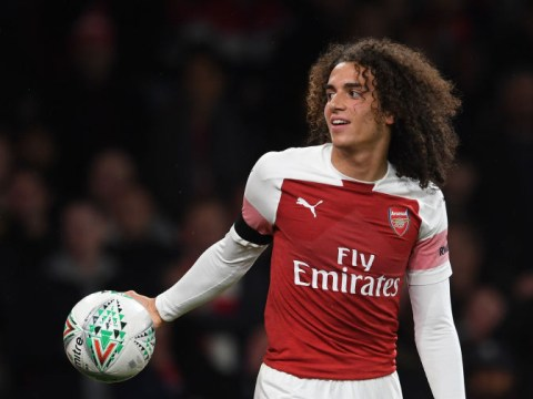 Unai Emery reveals chat with Matteo Guendouzi after red card against Blackpool