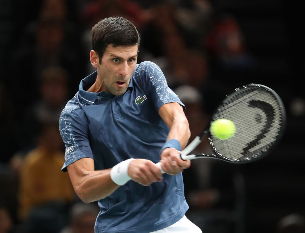 New world number one Novak Djokovic sets personal record at Paris Masters