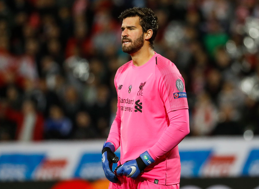Alisson admits Liverpool have told him to work on concentration and mental strength