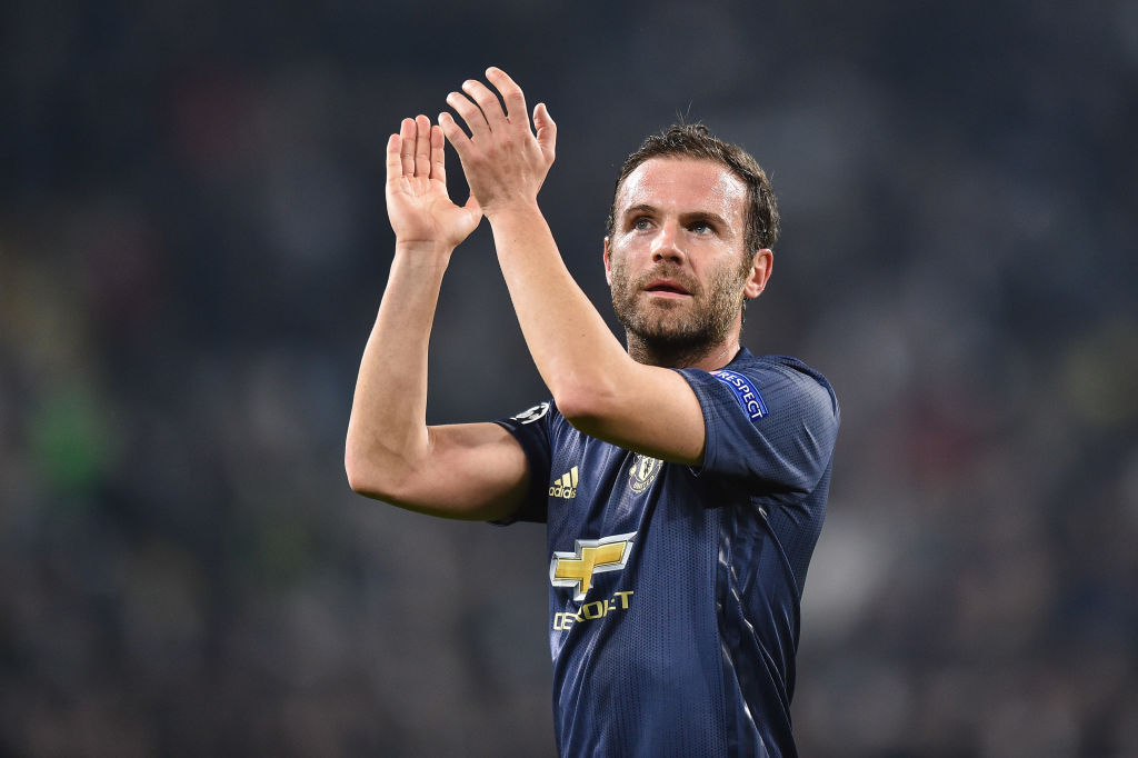 Juan Mata reveals what he told Ashley Young before stunning free-kick against Juventus