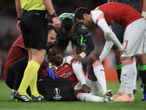 Manchester United send heartfelt message to Danny Welbeck after horror injury