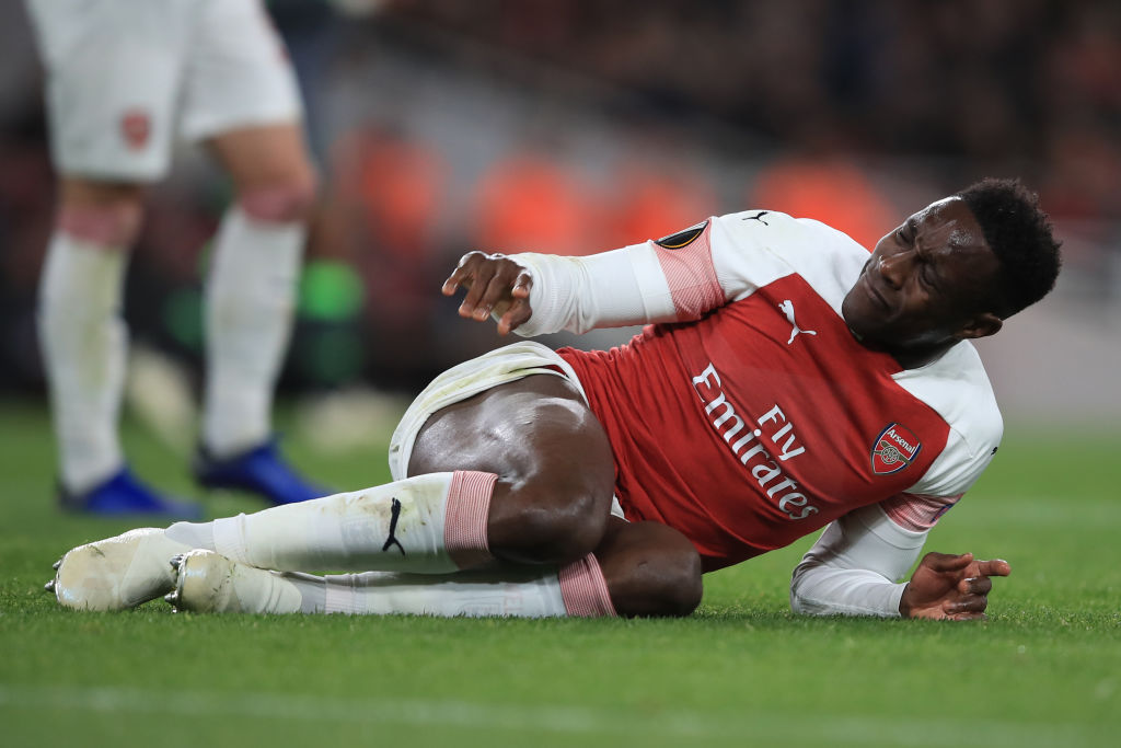 Arsenal fearing the worst over Danny Welbeck horror injury as they line up Nicolas Pepe