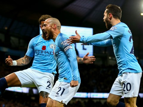 Manchester City show their class to return to top of Premier League table with derby win