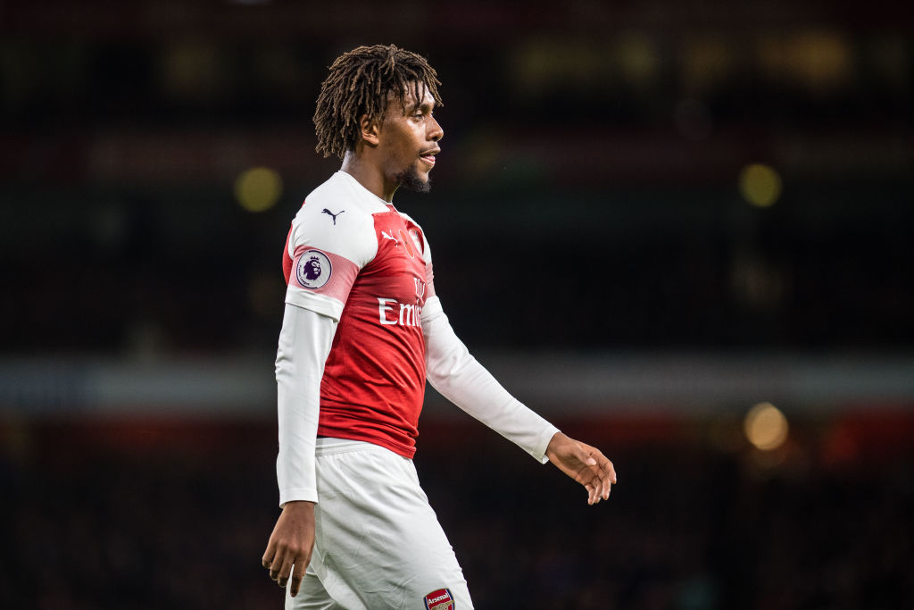 Unai Emery explains why he substituted Alex Iwobi at half-time against Wolves