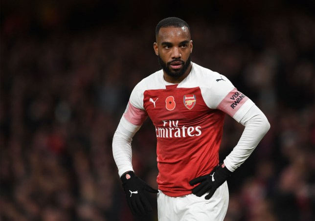 0dc6b624 Alexandre Lacazette has been struggling with a groin problem (Picture:  Getty)