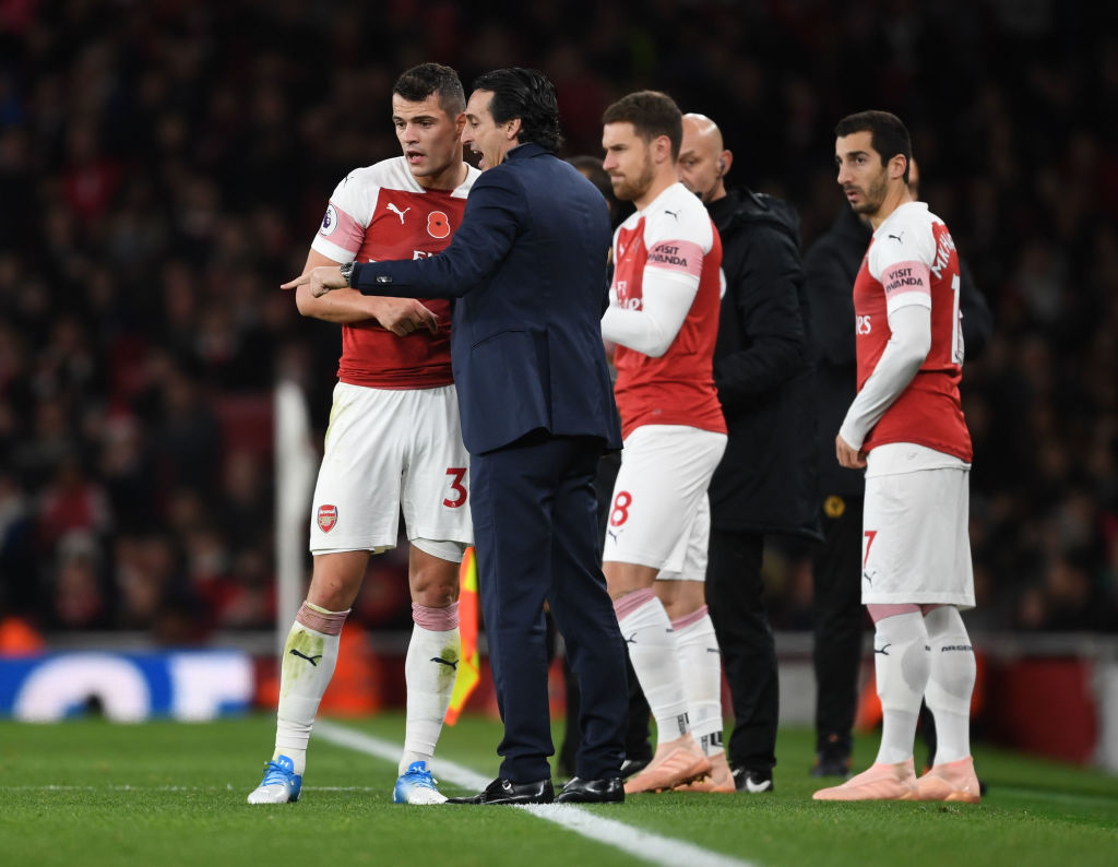 Unai Emery urged Arsenal players to take more risks after going behind to Wolves