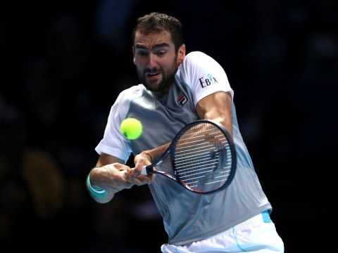 ATP Finals: Cilic beats Isner with Andy Murray watching on as Novak Djokovic progresses