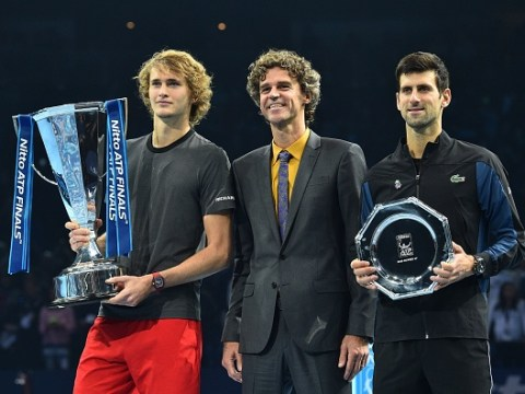Novak Djokovic makes bold prediction for Alexander Zverev's future after stunning ATP Finals win