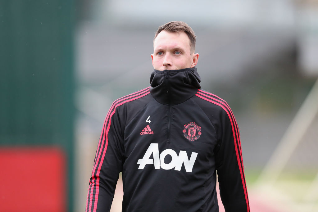 Manchester United star Phil Jones set for crunch talks with club as defender enters final months of contract