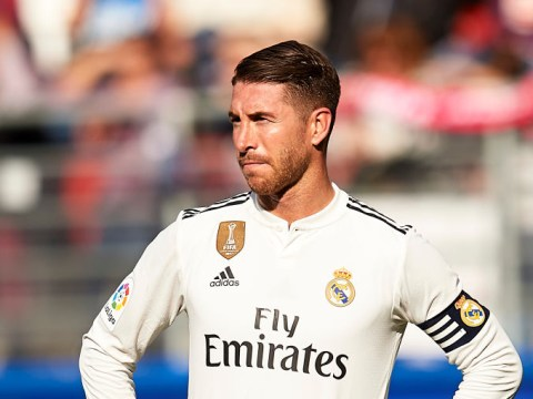 Sergio Ramos breaks silence on doping accusations after Eibar thump Real Madrid