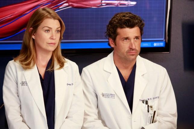 Greys Anatomy Stars Ellen Pompeo And Patrick Dempsey Dont Speak