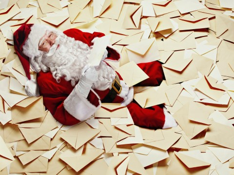 How to get a letter from Father Christmas through the Royal Mail