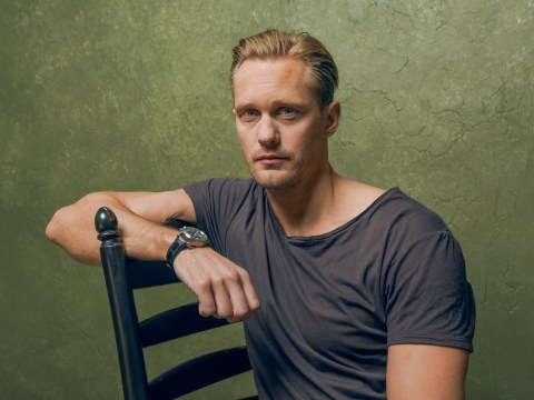 Line up ladies, Alexander Skarsgard wants a British wife