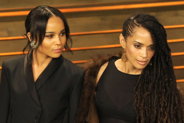 Zoe Kravitz Intimidated By Her Mother Lisa Bonet S Beauty