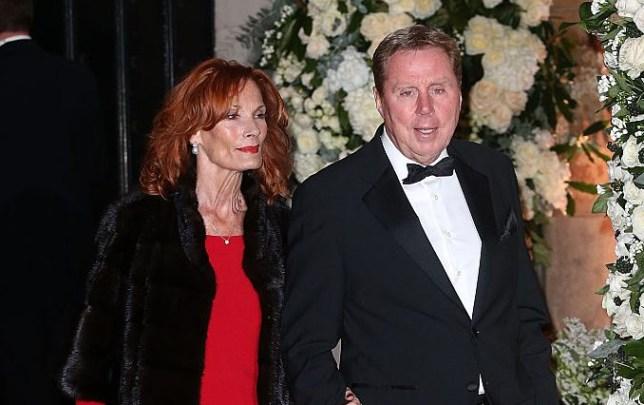 Harry and Sandra Redknapp