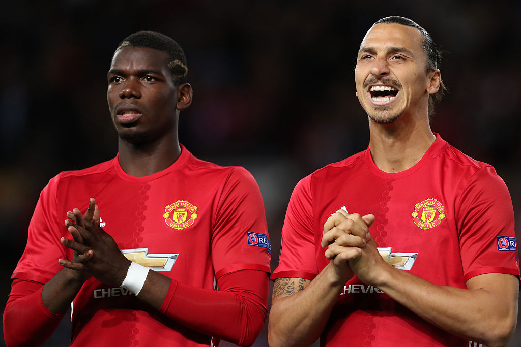 Zlatan Ibrahimovic speaks out on Paul Pogba's rift with Jose Mourinho at Manchester United