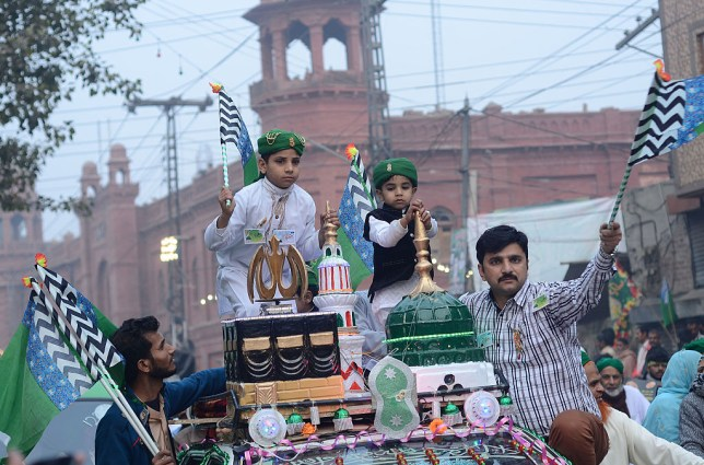 Eid Milad-un-Nabi Mubarak quotes, images and messages for