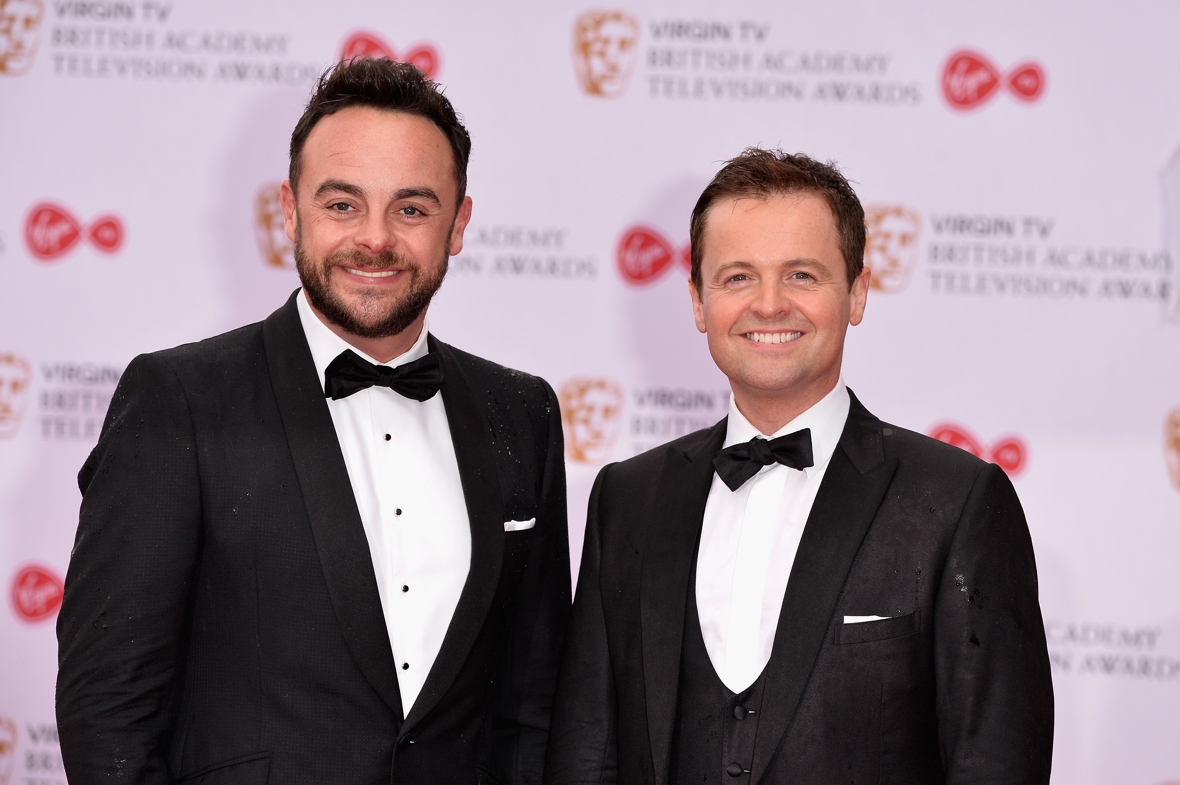 How many times have Ant and Dec won the National Television Award for best presenter?