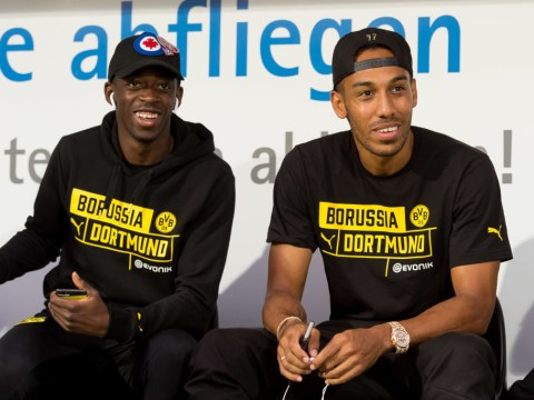 Pierre-Emerick Aubameyang sends message to Ousmane Dembele after stunning goal against Spurs