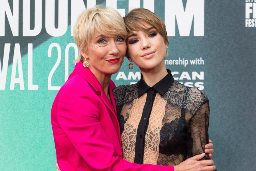 Emma Thompson and daughter Gaia
