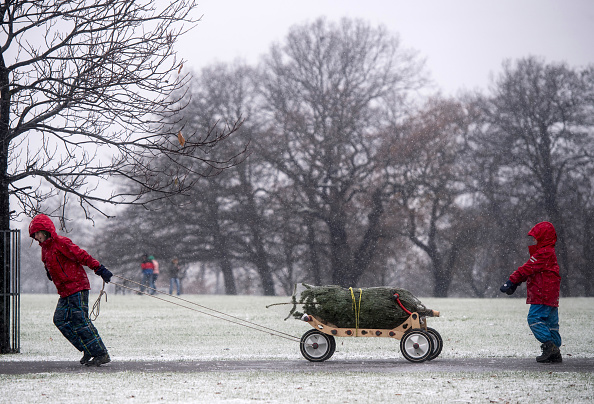 When was the last white Christmas, and is there likely to be one this year?