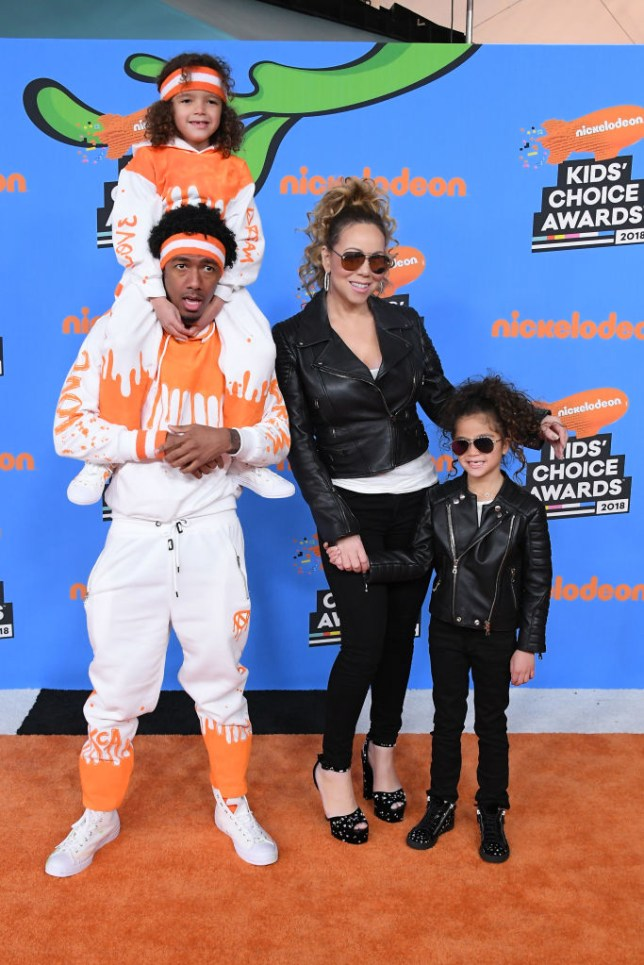 Nick Cannon, Mariah Carey and kids