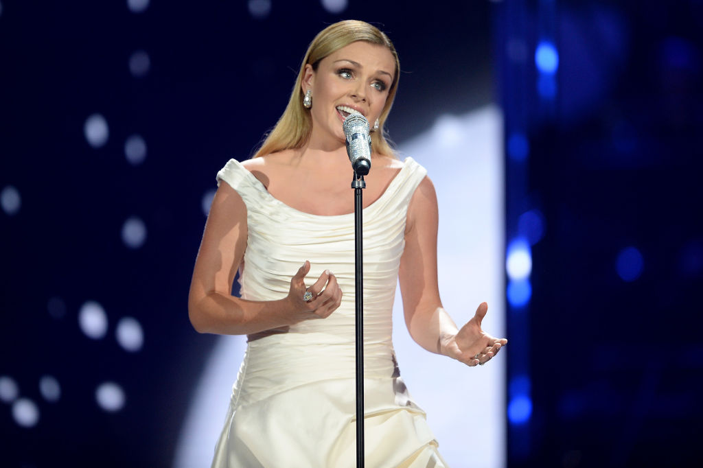 Katherine Jenkins praises grief counsellor for saving her following the sudden death of her father