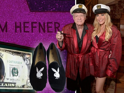 Hugh Hefner's iconic red jacket and sailor hat set to make thousands at charity auction