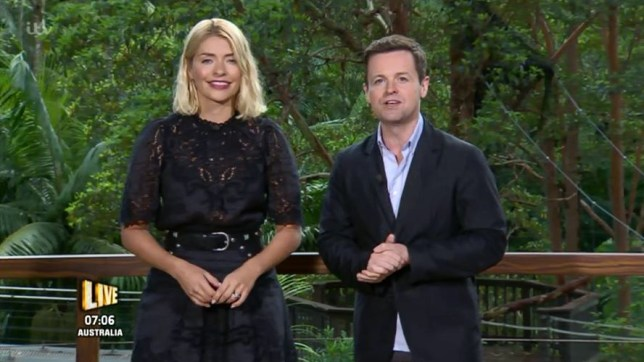 d9cf5823702e I'm A Celebrity's Holly Willoughby divides viewers as they miss Ant  McPartlin