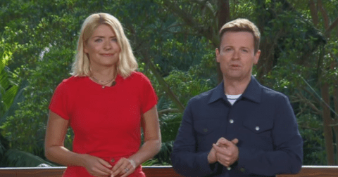 Holly Willoughby takes down I'm A Celebrity critics as she joins Declan Donnelly in hilarious This Morning gag