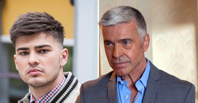 Picture: Channel 4 Hollyoaks: Mac kicks Romeo out
